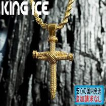 LA発ストリート☆King Ice☆HipHopペンダント The Nail Cross