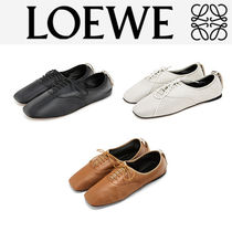 Loewe ロエベ Soft Leather derby shoes