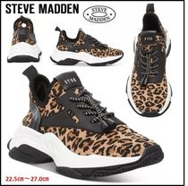 Steve Madden ★レオパード柄★ Myles Knit Chunky Sneakers