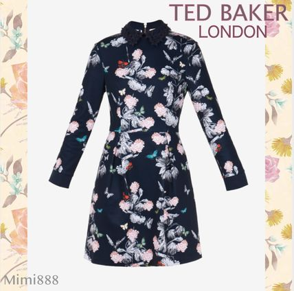 TED BAKER ワンピース ◆日本完売【TED BAKER】RAYLA Narrnia collar dress