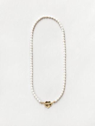 Wolf Circus ネックレス・ペンダント Wolf Circus/淡水パールネックレスSofia Pearl Necklace in Gold(3)
