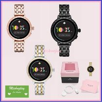【kate spade】機能充実♪ stainless scallop smartwatch 2 ★