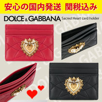 関税送料込国内発送★DOLCE & GABBANA Sacred Heart card holder