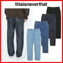 ★韓国の人気★【thisisneverthat】★REGULAR JEAN★4色★