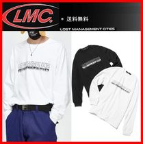 ☆韓国の人気☆【LMC ]☆LMC SHADOW FN LONG SLV TEE☆2色☆