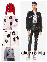 alice+olivia THERON STACEFACE ZIP UP CARDIGAN カーディガン