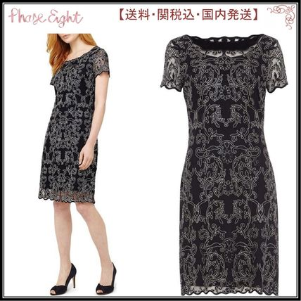 Phase Eight ワンピース 【関税込】Phase Eight ワンピース☆Tatiana Embroidered Dress