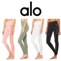 ALO Yoga☆HIGH-WAIST MOSAIC LEGGING メッシュ切替 レギンス