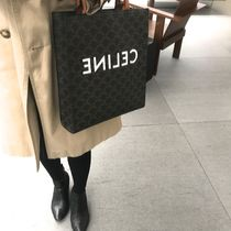 送料込【CELINE】SMALL CABAS VERTICAL IN TRIOMPHE バッグ