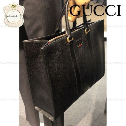 the latest 61ccf 34367 SALE★GUCCI★メンズ トートバッグ★国内発送★関税込