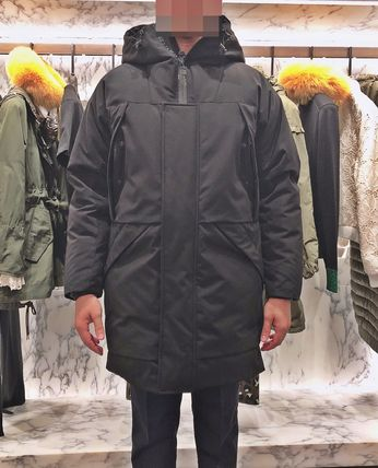 MONCLER★19/20AW 異素材MIX シックなブラックFORSTER★関税込み