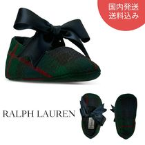 Polo Ralph Lauren☆Baby Girls'Briley Ballet Crib Shoesセール