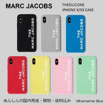 MARC JACOBS【国内発送】シリコン☆ iPHONE X/XS CASE☆