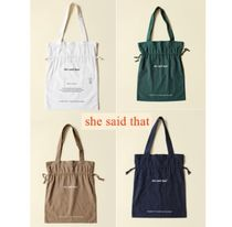 韓国発【she said that】Signature Color Bag 全4色 追跡送料込