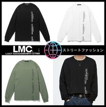 ☆イベント/関税込☆LMC★LMC VERTICAL MIL LONG SLV TEE★3色★