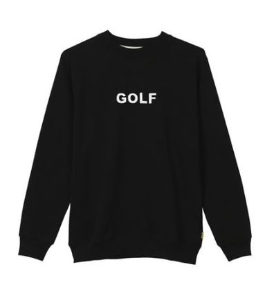 "☆GOLF WANG☆ "" GOLF LOGO CREWNECK """