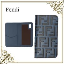 【Fendi 】 Forever iPhone X /XSケース ブルー & ブラック