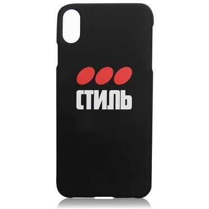 Heron Preston スマホケース・テックアクセサリー Heron Preston CTNMB DOT IPHONE XSケース