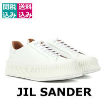 RUNWAY・関税込☆JIL SANDER☆ Platform leather sneakers