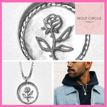 Wolf Circus(ウルフサーカス) ネックレス・チョーカー Wolf Circusウルフサーカス★Box Chain Rose Coin★ネックレス