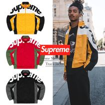 FW19 Week1 Supreme Shoulder Logo Track Jacket