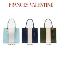【Frances Valentine】Tall Chloe Racing Stripe Olive