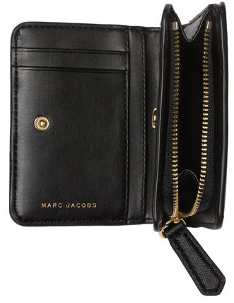 MARC JACOBS 折りたたみ財布 SALE! Marc Jacobs ロゴ ミニ 財布★L字ファスナー小銭入れ付♪(6)