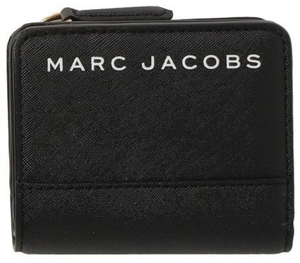 MARC JACOBS 折りたたみ財布 SALE! Marc Jacobs ロゴ ミニ 財布★L字ファスナー小銭入れ付♪(5)