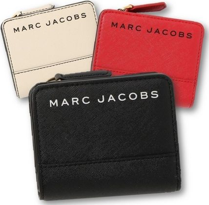 MARC JACOBS 折りたたみ財布 SALE! Marc Jacobs ロゴ ミニ 財布★L字ファスナー小銭入れ付♪(2)