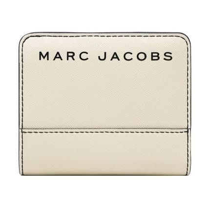 MARC JACOBS 折りたたみ財布 SALE! Marc Jacobs ロゴ ミニ 財布★L字ファスナー小銭入れ付♪(17)