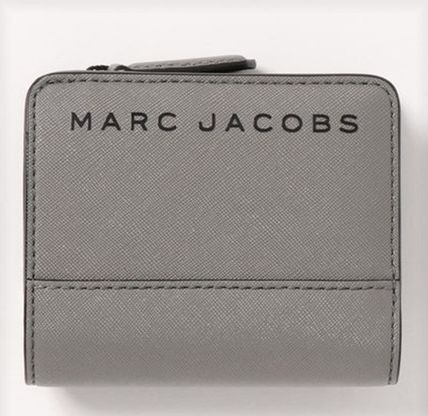 MARC JACOBS 折りたたみ財布 SALE! Marc Jacobs ロゴ ミニ 財布★L字ファスナー小銭入れ付♪(8)