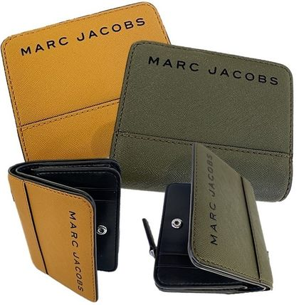 MARC JACOBS 折りたたみ財布 SALE! Marc Jacobs ロゴ ミニ 財布★L字ファスナー小銭入れ付♪(3)