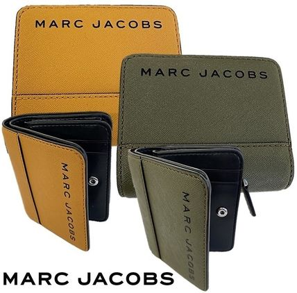 MARC JACOBS 折りたたみ財布 SALE! Marc Jacobs ロゴ ミニ 財布★L字ファスナー小銭入れ付♪(18)