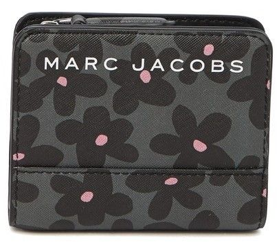 MARC JACOBS 折りたたみ財布 SALE! Marc Jacobs ロゴ ミニ 財布★L字ファスナー小銭入れ付♪(13)