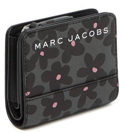 MARC JACOBS 折りたたみ財布 SALE! Marc Jacobs ロゴ ミニ 財布★L字ファスナー小銭入れ付♪(14)