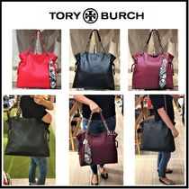 【TORY BURCH】 THEA チェーン・トートバッグ