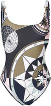 TORY BURCH▽TORY BURCH Geometric プリント swimsuit