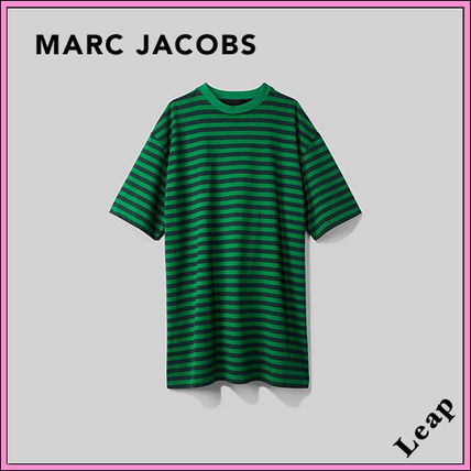 MARC JACOBS ワンピース 【MARC JACOBS】人気 THE STRIPED T-SHIRT DRESS★