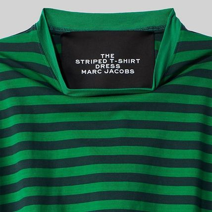 MARC JACOBS ワンピース 【MARC JACOBS】人気 THE STRIPED T-SHIRT DRESS★(2)