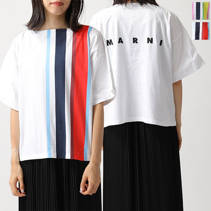 MARNI Tシャツ THJE0012PC SCQ21 GLOSSY JERSEY