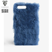 THE CASE FACTORY*iPhone 7/8 PLUS ファー ケース*Blue
