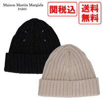 関税・送料込 MAISON MARGIELA RIBBED WOOL ビーニー