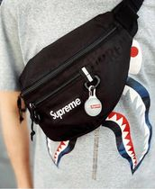★ Supreme ★ Waist Bag ★ Black  ★  Spotlight Keychain