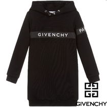 19/20aw▼GIVENCHY▼ロゴフードワンピ/6~12y大人OK【関税込】