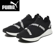☆国内正規品  要在庫確認☆PUMA NRGY STAR SLIP-ON NRGY BK/WH