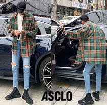 ASCLO  Akon Checked Over Shirt  s503
