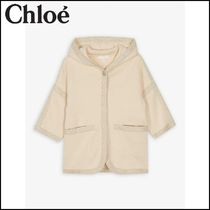 【Chloe】 Cotton-wool fabric blend jacket 6-36 months