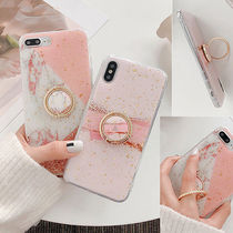 ♡NEW Pink Marble ピンクマーブル リング ケース