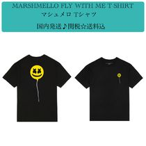 MARSHMELLO FLY WITH ME T-SHIRTマシュメロ Tシャツ