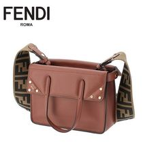 19秋冬新作 ☆FENDI☆ FLIP SMALL 2wayバッグ RUST♪